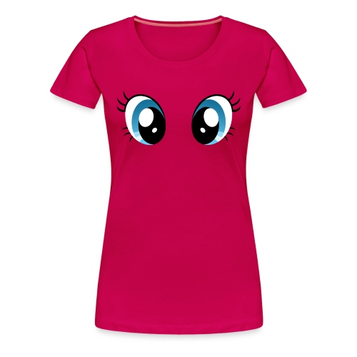 Pinkie Pie Eyes - Women's Premium T-Shirt