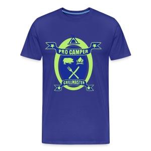 Pro Camper & Grillmaster - Männer Premium T-Shirt