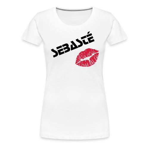 Sebasté Girl Shirt Kiss - Frauen Premium T-Shirt