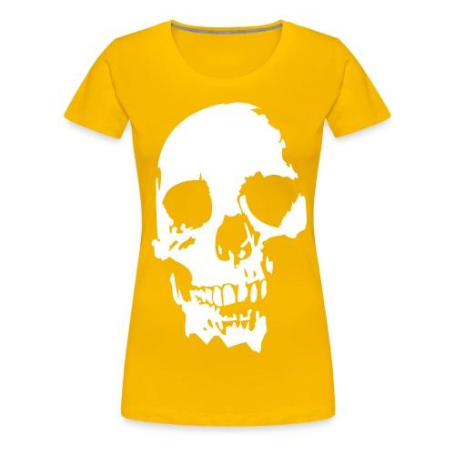calabera woman - Camiseta premium mujer