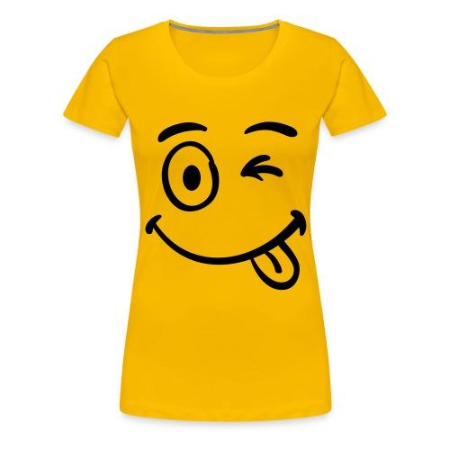 Zwinker Bähhh - Frauen Premium T-Shirt