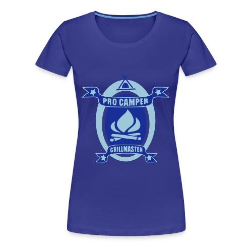 Pro Camper & Grillmaster - Frauen Premium T-Shirt