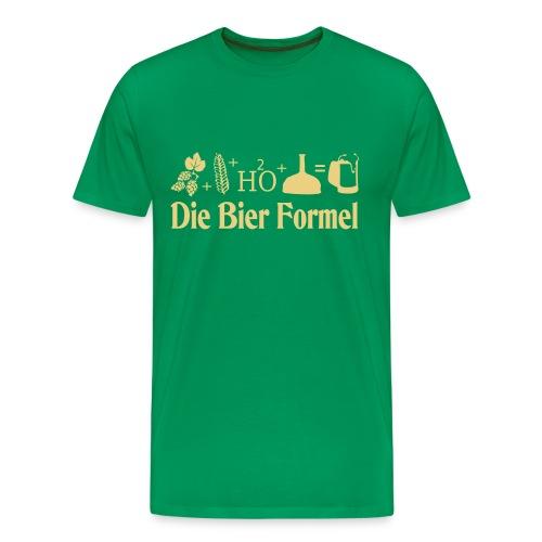 Die Bier Formel - Männer Premium T-Shirt