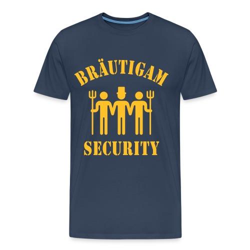 Bräutigam Security - Männer Premium T-Shirt