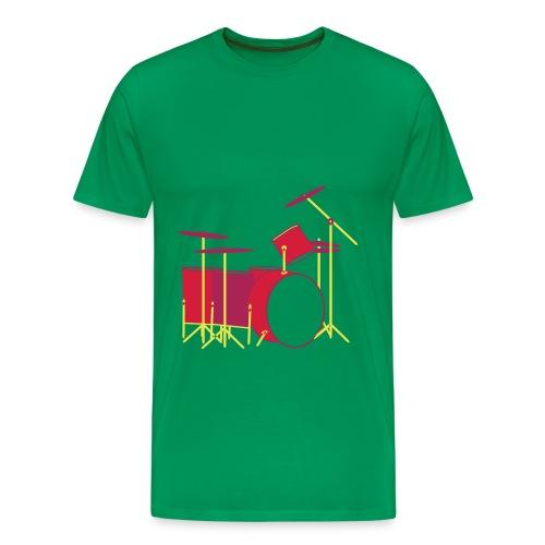 Colour Drums I - Männer Premium T-Shirt