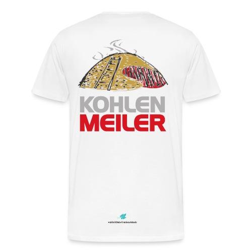 Edition Kohlenmeiler - Big is beautiful - Männer Premium T-Shirt