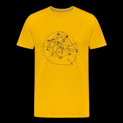 SEO Strategy No.1 (black) - Premium-T-shirt herr