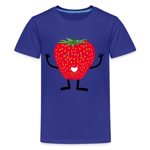 Erdbeerchen T-Shirt - Teenager Premium T-Shirt