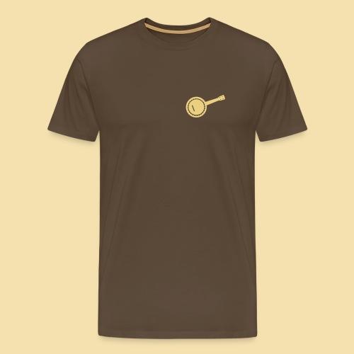 Menshirt: Banjolele (Motiv: beige) - Männer Premium T-Shirt