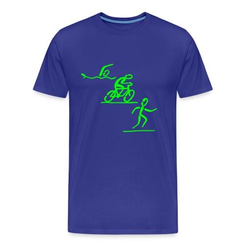 Triathlon Shirt - Männer Premium T-Shirt
