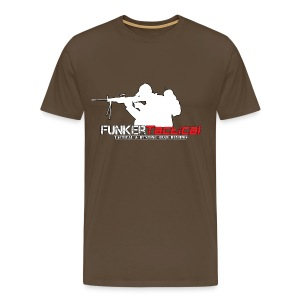 Men's Premium T-Shirt - afghanistan,clothing,funker tactical,funker530,gear,guns,hoodie,shooting,tshirt,youtube