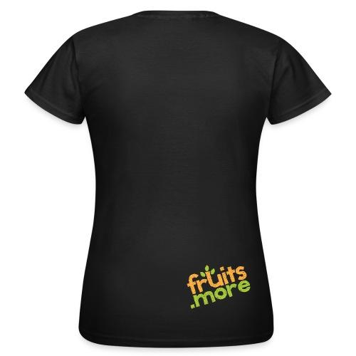 Logo-Shirt Rücken 4 - Frauen T-Shirt