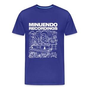 Rhythm Box white letters - Men's Premium T-Shirt