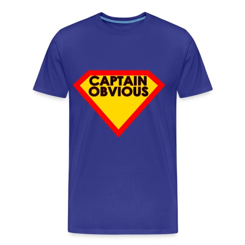 Captain Obvious - Men's Premium T-Shirt