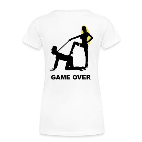 Tee shirt basique Femme game over blonde - T-shirt Premium Femme