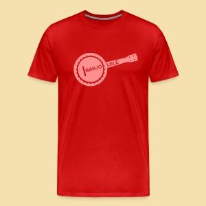 Menshirt: Banjolele (Motiv: pink) - Männer Premium T-Shirt