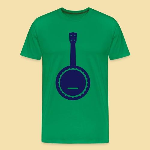 Menshirt: Banjolele (Motiv: navy) - Männer Premium T-Shirt