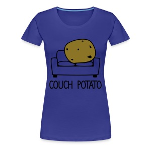 couch potato - Women's Premium T-Shirt