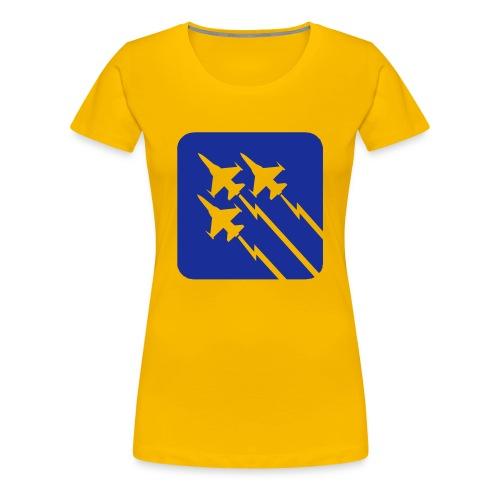 Air Force Womens Shirt - T-shirt Premium Femme