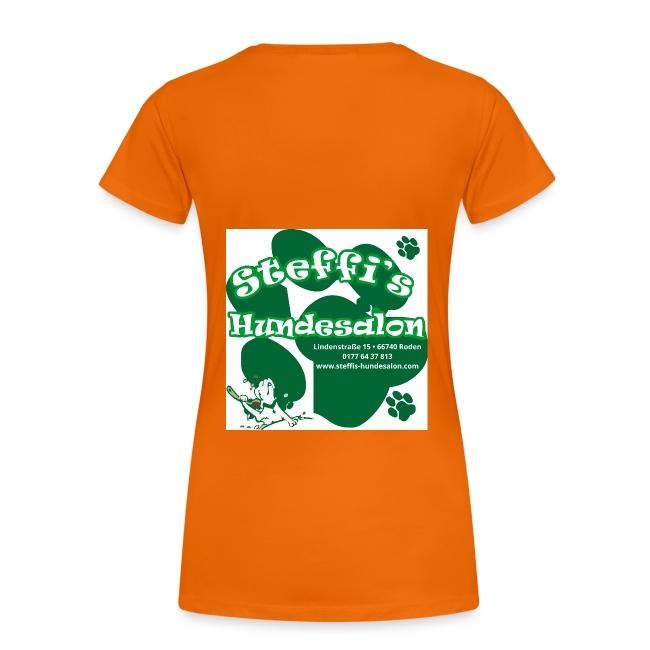 Steffis Hundesalon Frauenshirt Motiv 1