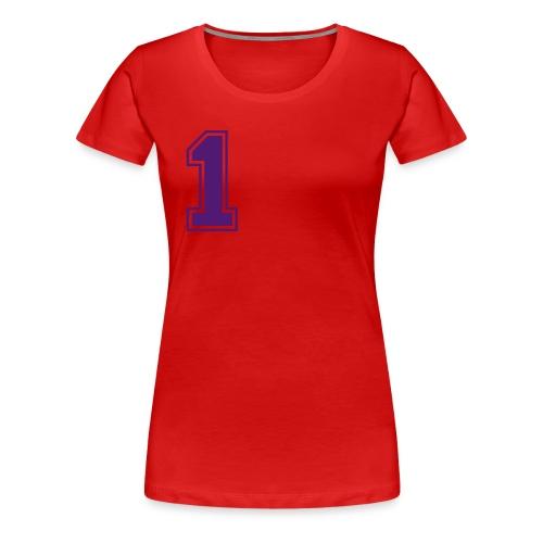 T-shirt vrouw (opdruk 1) - Vrouwen Premium T-shirt