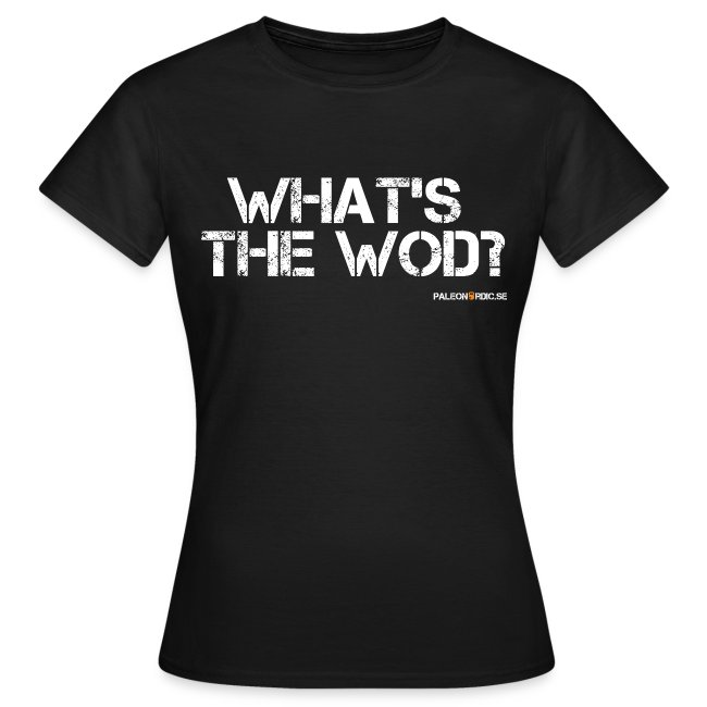 What's the WOD? dam