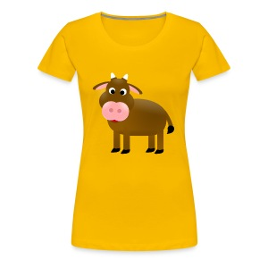 Cow T-Shirt - Frauen Premium T-Shirt