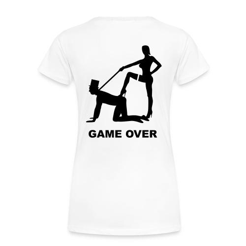 Tee shirt basique Femme game over - T-shirt Premium Femme