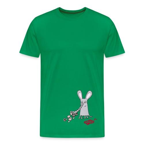 Rüsselgonz mit Pilzen - Männer Premium T-Shirt