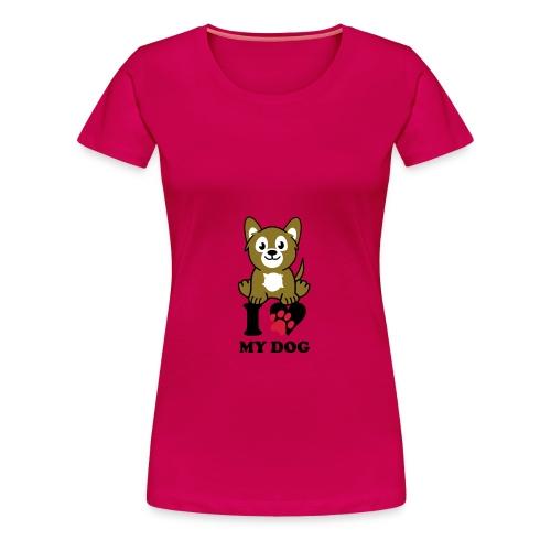 animal lover - Camiseta premium mujer