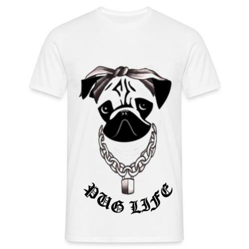 Pug Life - Men's T-Shirt