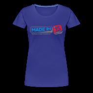 Tee shirts ~ T-shirt Premium Femme ~ Tee Fem. Classique