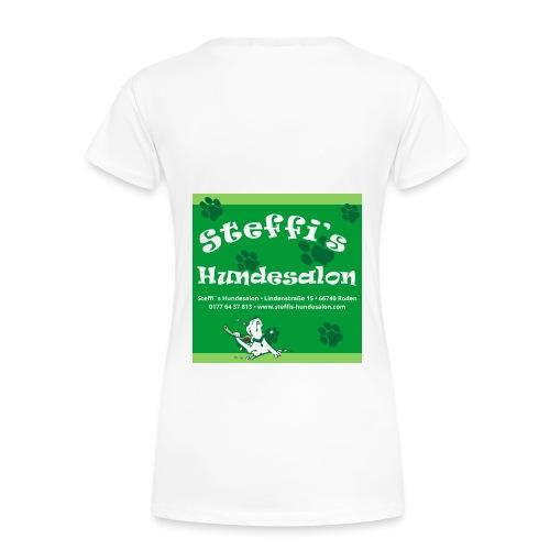 Steffis Hundesalon Frauenshirt Motiv 2fb - Frauen Premium T-Shirt