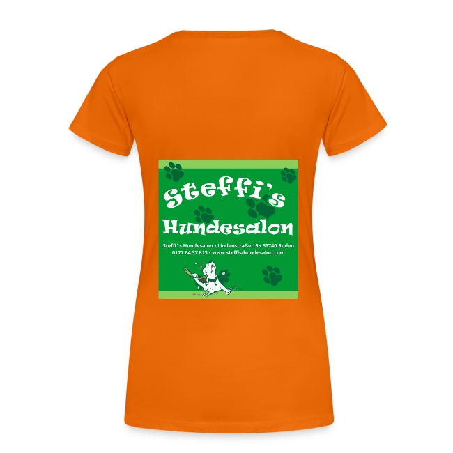 Steffis Hundesalon Frauenshirt Motiv 2fb