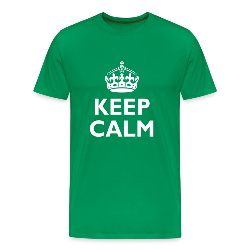 'Keep Calm' Men's T-Shirt - Men's Premium T-Shirt