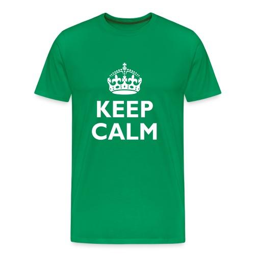 'Keep Calm' Men's T-Shirt - Men's Premium T-Shirt