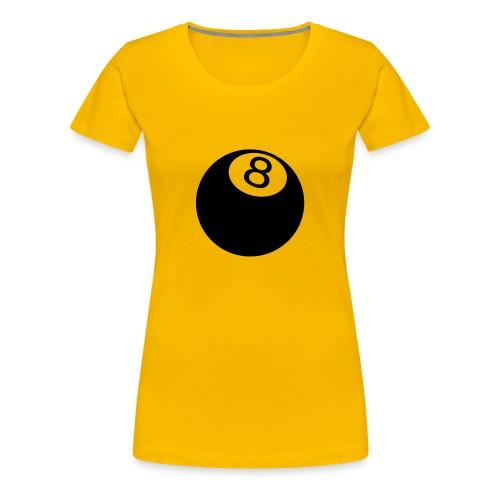 8 Ball Womens Shirt - T-shirt Premium Femme
