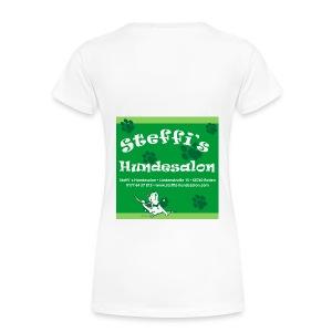 Steffis Hundesalon Frauenshirt Motiv 1v1 - Frauen Premium T-Shirt