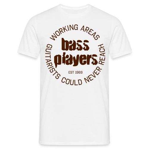 Menshirt: Bassplayers - Männer T-Shirt
