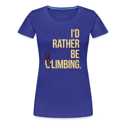 I'dRBC - Women turquoise - Frauen Premium T-Shirt