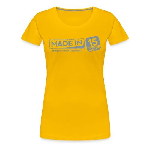 Tee Fem. - T-shirt Premium Femme