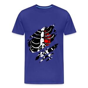 T shirt homme squelette - T-shirt Premium Homme