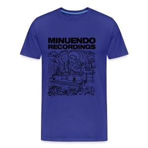 Rhythm Box black letters - Men's Premium T-Shirt