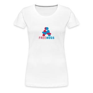 free hugs vrouw - Vrouwen Premium T-shirt