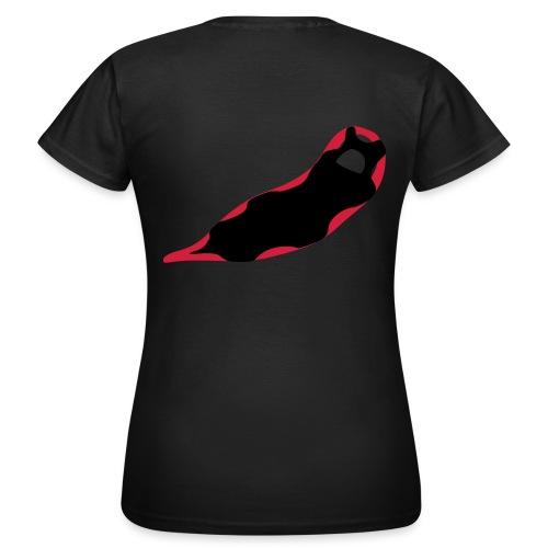 Schneeschuh Shirt - Frauen T-Shirt