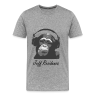 T-shirts ~ Mannen Premium T-shirt ~ Men Basic Shirt: Jeff Residenza - Monkey