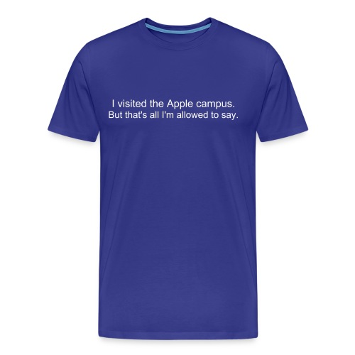 That's all i'm allowed to say. - T-shirt Premium Homme