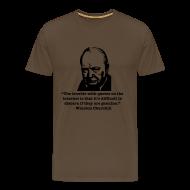 T-Shirts ~ Men's Premium T-Shirt ~ Winston's internet quote