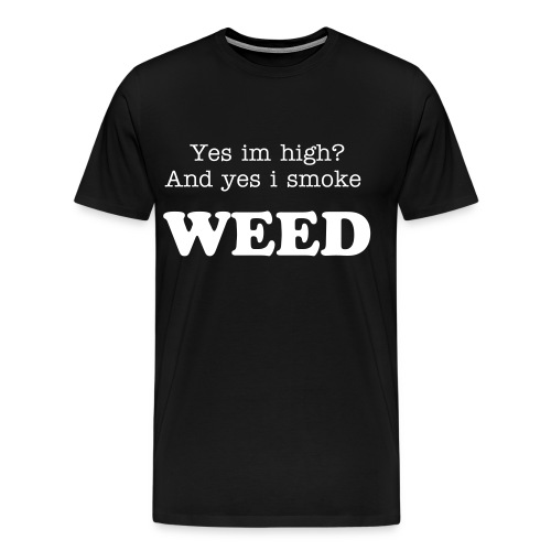 smoke weed every day - Herre premium T-shirt