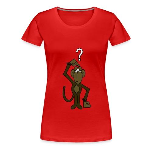 Frauen-Affenshirt - Frauen Premium T-Shirt